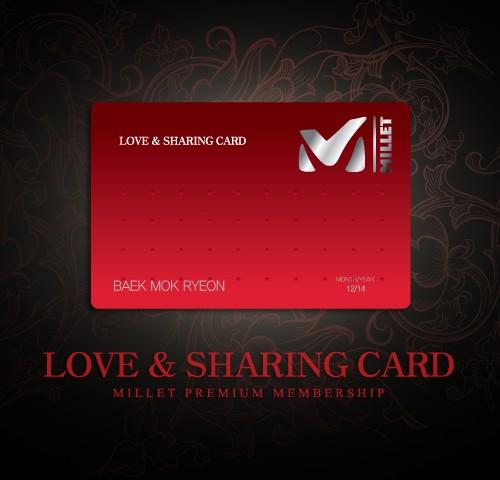 MILLET – LOVE CARD