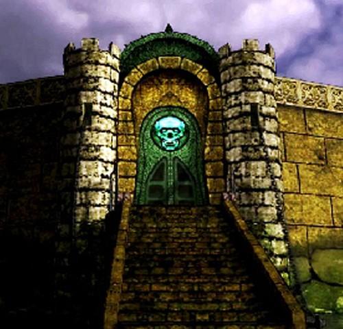 A castle gate
